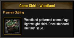 Camo Shirt - Woodland