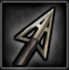 Fixed blade icon