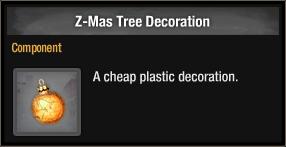 Z-Mas Tree Decoration 2018