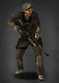 Survivor with ar-99 susspressed