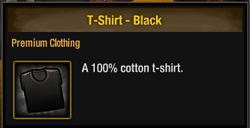 TLSDZ T-Shirt - Black