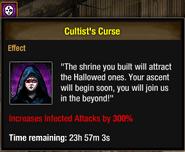 Tlsdz cultist's curse