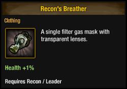 Recon's Breather