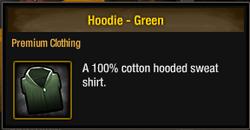 TLSDZ Hoodie - Green
