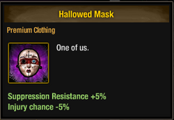 Tlsdz hallowed mask