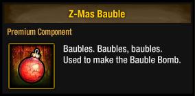 Z-Mas Bauble