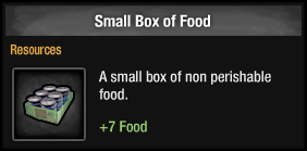 Small Box of Food