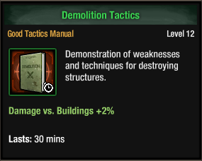 Demolition Tactics