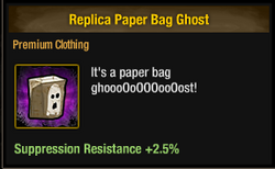 Tlsdz replica paper bag ghost