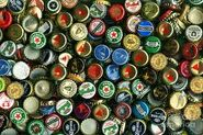 Beerbottle caps