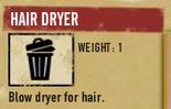 Tlsuc hair dryer
