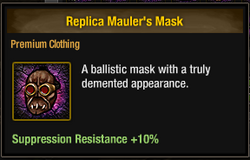 Tlsdz replica mauler's mask