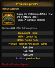 Premium Supply Box 16