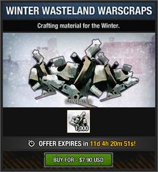 Winter Wasteland Warscraps package