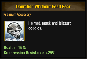 Operation Whiteout Head Gear