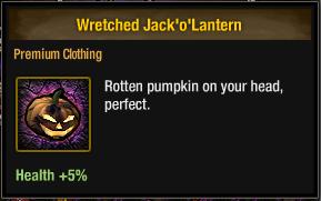 Tlsdz wretched jack o lantern