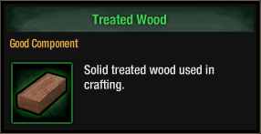 Treated Wood
