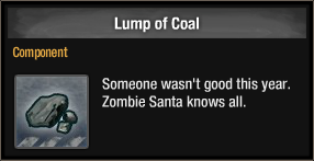 Lump of Coal 2017