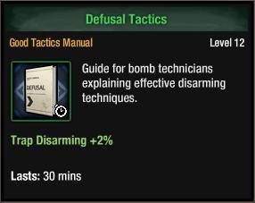 Defusal Tactics