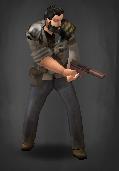 Survivor with Shot Pistol