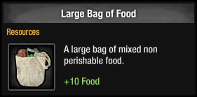 Large Bag of Food