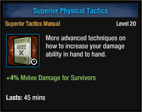 Superior Physical Tactics