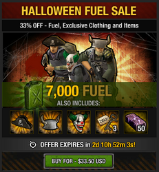 Tlsdz Halloween Fuel Sale 7000