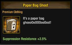 Tlsdz Paper Bag Ghost