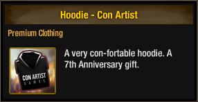 Hoodie - Con Artist