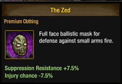 Ballistic zombie