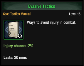 Evasive Tactics