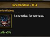 Face Bandana - USA