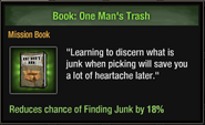 Book One Man's Trash
