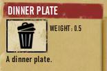 Tlsuc dinner plate