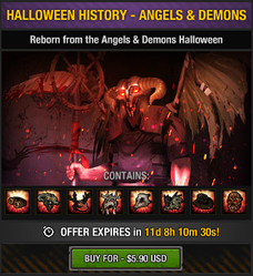 Halloween History - Angels & Demons