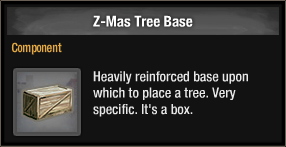 Z-Mas Tree Base 2018