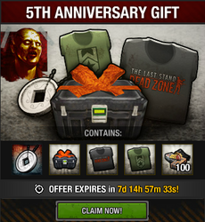 5th Anniversary Gift package