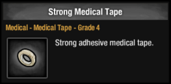 Strong Medical Tape