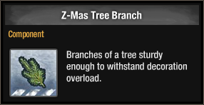 Z-Mas Tree Branch 2017