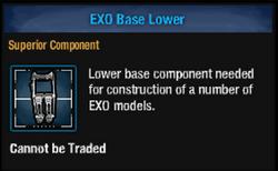 Exo base