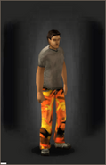Military Pants - Fall equipped male