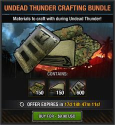 Undead Thunder Crafting Bundle