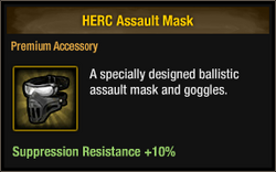 Assault mask
