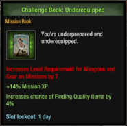 Underequipped
