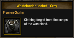 Wastelander Jacket - Grey