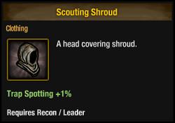 Scouting Shroud