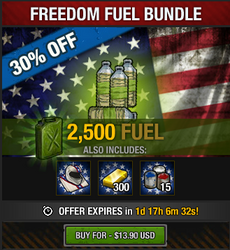 Freedom Fuel Bundle