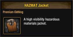 Hazmat jacket