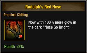 Tlsdz Rudolph's Red Nose
