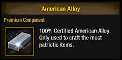 Tlsdz american alloy